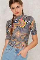 Jaded London Rainbow Swirl Bodysuit