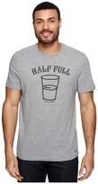 Life is Good Half Full Arc Crusher Tee Men's T Shirt