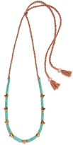 Lizzie Fortunato Simple Tooth Necklace - Turquoise