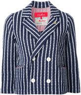 Coohem striped tweed jacket