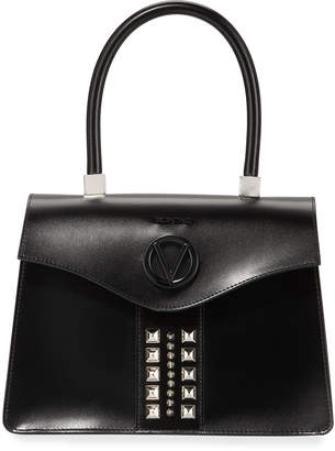 Mario Valentino Valentino By Melanie Soave Studded Leather Top-Handle Bag