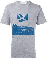 Golden Goose Deluxe Brand Scottish flag print T-shirt