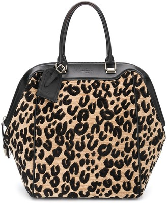 Louis Vuitton Pre-Owned Leopard Print Tote Bag