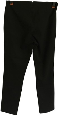 Theory Black Spandex Trousers