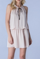 Do & Be Blush Tied Dress