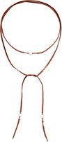 Chan Luu Pearl Wrap Necklace