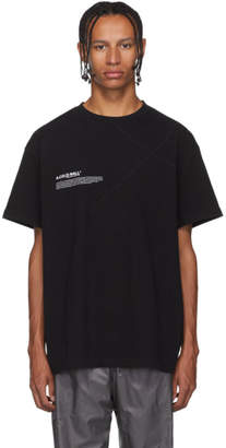 A-Cold-Wall* Black Mission Statement T-Shirt