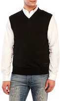 Just Cavalli Wool V-Neck Vest
