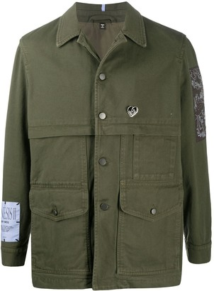 McQ Button-Up Shirt Jacket