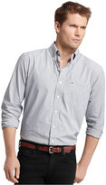 Izod Long Sleeve Checkered Essential Shirt