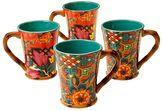 Tracy Porter Eden Ranch 4-pc. Coffee Mug Set
