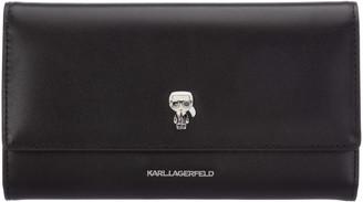 Karl Lagerfeld Paris K/Ikonik Pin Flap Wallet