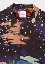 Paul Smith Men's 'Midnight' Print Short-Sleeve Shirt