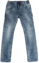 Diesel Distressed Stone Washed Cotton Joggjeans