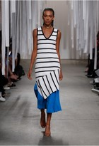 Milly Directional Pop Stripe Shift Dress