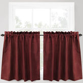 B. Smith Park Park Cortina Rod-Pocket Window Tiers