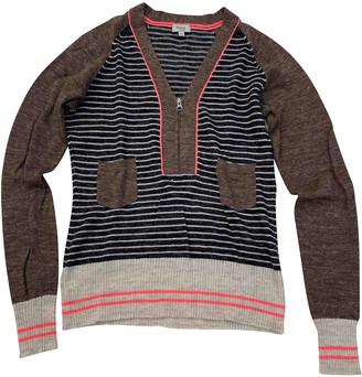 Hoss Intropia Brown Wool Knitwear