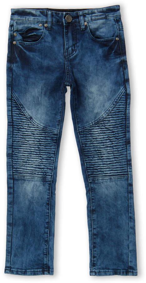 X-Ray X Ray (Boys 8-20) Medium Blue Moto Jeans