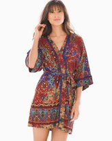Soma Intimates Shiraz Border Wrap Robe