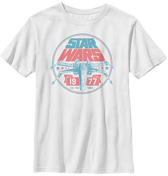 Fifth Sun Boys' Tee Shirts WHITE - Star Wars White Rad Red Five Tee - Boys
