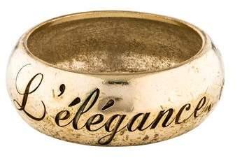 Chanel L'elegance C'est La Ligne Bracelet