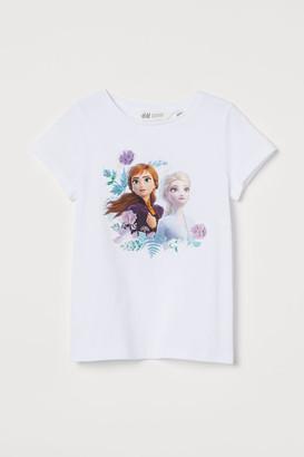 H&M Motif-detail T-shirt