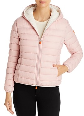 Save The Duck Short Hooded Sherpa