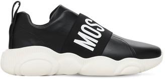 Moschino 30mm Logo Band Neoprene Sneakers
