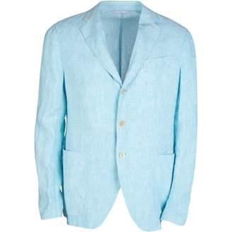 Armani Collezioni Blue Linen Jackets