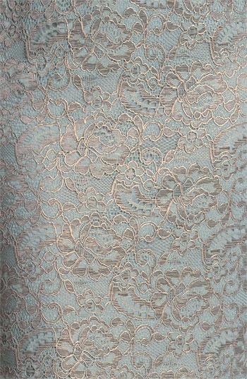 Adrianna Papell Metallic Lace Sheath Dress