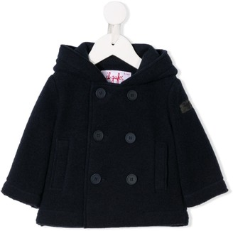 Il Gufo Double Breasted Duffle Coat
