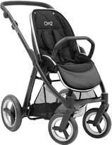 babystyle Oyster Max Pushchair Chassis without hood - Black Satin