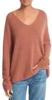 Vince Women's Deep V-Neck Cashmere Pullover