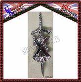 SHYNE_ENTERPRISES St.Andrew's Highland Scottish Kilt Pins In Chrome Finish/Brooch Kilt Pin