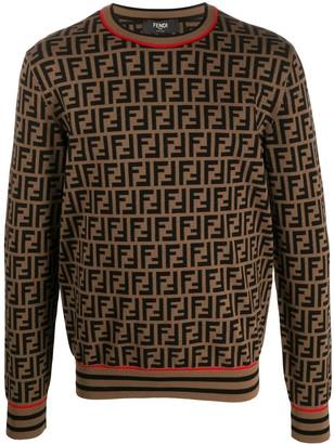 Fendi FF Pattern jumper