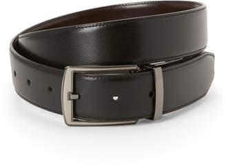 Perry Ellis Portfolio Black Sneaky Boss Reversible Belt