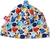 Zutano Mighty Dog Hat (Baby) - Multicolor-NB