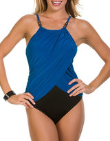 Magicsuit Lisa One-Piece Draped Swimsuit
