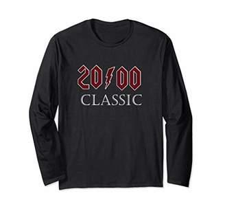 Funny Mens 19th Birthday Gift Classic Rock since 2000 Long Sleeve T-Shirt