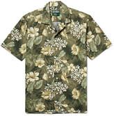 Gitman Vintage - Camp-collar Floral-print Cotton Shirt