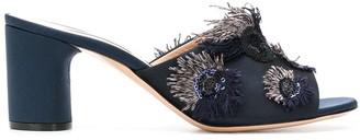 Casadei sequin appliqué sandals