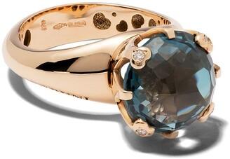 Pasquale Bruni 18kt rose gold diamond Sisi ring