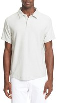 Onia Men's 'Alec' Reverse Terry Cloth Polo