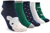 Forever 21 FOREVER 21+ Ankle Sock Set – 5 Pack