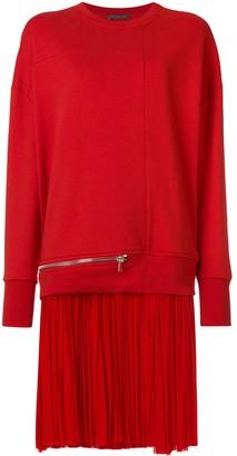 Alexander McQueen sweatshirt dress