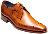 Barker Woody Goodyear Welt Brogue Derby Shoes, Cedar