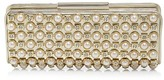 Sondra Roberts Faux-Pearl and Stone Clutch