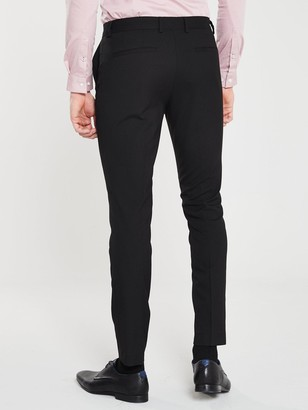River Island Smart Skinny Black Trousers