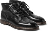 Dolce & Gabbana - Leather Brogue Boots