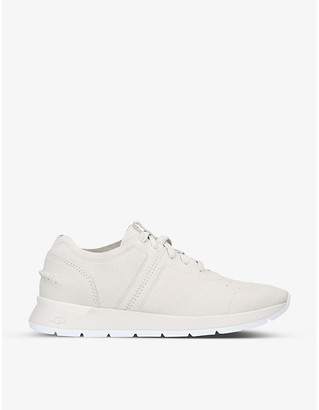 UGG Layla lace-up leather trainers